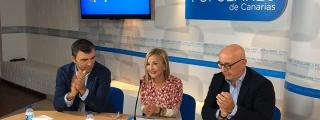 El PP advierte que los canarios no vivirán tranquilos con un Gobierno radical en España