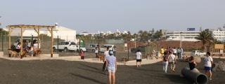 Playa Blanca estrena parque canino
