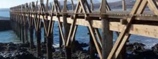 Demarcación de Costas autoriza la rehabilitación y acondicionamiento de la pasarela de Arrieta