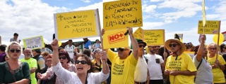 El movimiento pensionista anuncia que se concentrará nuevamente el próximo sábado día 26 de mayo frente al Cabildo Viejo