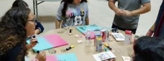 Teguise promueve los talleres artísticos entre la gente joven