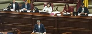 Clavijo cree que ''no es buena noticia para Canarias'' retrasar los presupuestos de 2019